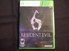 Replacement Case (NO GAME) RESIDENT EVIL 6 XBOX 360