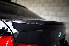 BMW F10 M5 CARBON FIBER PERFORMANCE STYLE TRUNK SPOILER