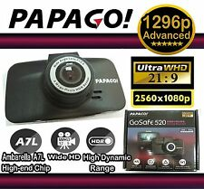 Papago GoSafe 520  Super HD 2560 x 1080P Car DVR Camera ☆Good as DOD LS430W