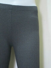 "Large 26""-31"" BLACK Women's Leggings in Cotton v#10"