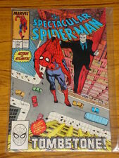 SPIDERMAN SPECTACULAR #142 VOL1 MARVEL PUNISHER APPS SEPTEMBER 1988