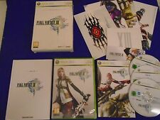 xbox 360 FINAL FANTASY XIII Limited Collectors Edition *x MINT DISC Microsoft