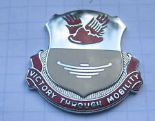 26th SUPPORT BATTALION / VICTORY THROUGH MOBILITY / US ARMY CREST ... Pin (114b)