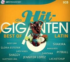 DIE HIT GIGANTEN BEST OF LATIN (Shakira, Santana, Alvaro Soler) 3 CD NEU