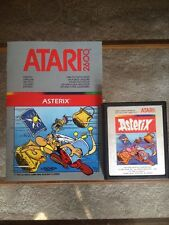 ASTERIX Authentic Atari 2600 Cartridge  (rarity10)!!! And Instructions!!rare