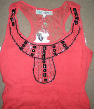 Full Length Summer Dress by Little Mistress UK8 Beach Party Coral Lace NEW TOWIE