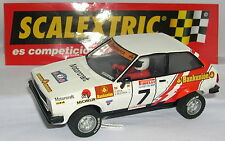 SCALEXTRIC SPAIN ALTAYA RALLY  MITICOS FORD FIESTA 1600 #7  S.SERVIA-A.BRUSTENGA