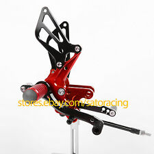 For Suzuki GSXR600 GSX600R 2000-2005 Top CNC Footpegs Rear set Rearsets 2004