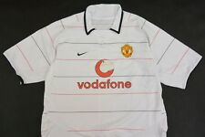 2003-2005 NIKE Manchester United Away Third Shirt SIZE L (adults)