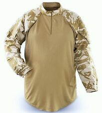 British Military Surplus UBAC Long Sleeved Top / Desert DPM Camo. (Size XL) NEW