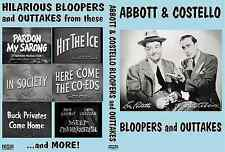 ABBOTT & COSTELLO BLOOPERS AND OUTTAKES