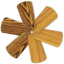 "Replacement Blades for 32"" Ceiling Fan 6/pk Reversible Medium Oak / Teak_236-B55"