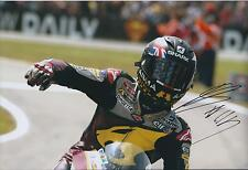 Scott REDDING SIGNED Marc VDS Racing Team 12x8 Photo AFTAL COA Autograph