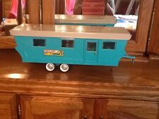 Vintage Ford Nylint No. 6600 Camper Trailer Mobile Home Truck Pressed Steel Toy