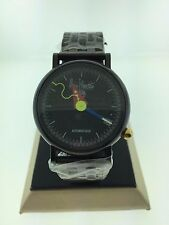 Alain Silberstein Automatique Mens Black Coated Watch (MINT CONDITION)