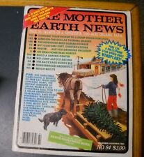 MOTHER EARTH NEWS MAGAZINE NOV/DEC 1983 THERMAL SHADES EARTH SHELTER HOME WIND