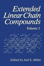 Extended Linear Chain Compounds, Volume 1