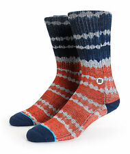 NEW STANCE SOCKS DOUBLE DIP M3110DOU GRY   GRAY Mens Size Large / XL 9-13