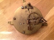 Antique Barrel Clock Movement Chiming for Restoration 85mm Diameter