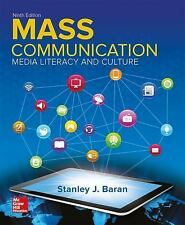 Introduction To Mass Communication Media Literacy And Culture 9th Ed. Loose leaf