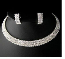 Wedding Jewelry Swarovski Crystal Necklace Earring Sets#1122801