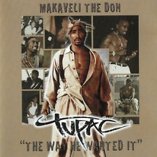 """Tupac – Makaveli The Don """"The Way He Wanted It"""" New / Sealed (Box C145)"""