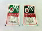 SINGER DOMESTIC SEWING MACHINE NEEDLES, size 14-16-18