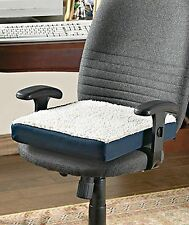 Orthopedic gel top thick foam cushion chair pad seat office comfy lumbar support