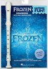 Frozen Recorder Fun Pack with Song book and Instrument Recorder NEW 000142758