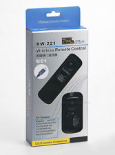 RW-221 UC1 Wireless Remote Shutter Cable for Olympus XZ-2 SP-590 SP565 E620 E600