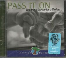 Pass It On Leaving a Legacy For a Lifetime Various Artists CD SEALED NEW CCM