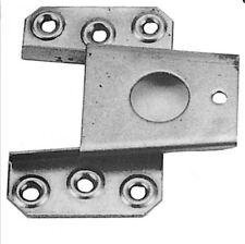 Keilbeschlag 2x oben Eisen Schrank Seiten Kronen Verbindung Restaurierungsbedarf