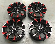 "4x18"" Wolfrace ASSASSIN Gloss Custodia CERCHI in lega HONDA CIVIC TYPE R ACCORD 5x114"