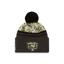 2016 Men's New Era Salute to Service Knit Hat (One Size, Chicago Bears)