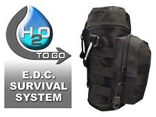 Discreet Prepper - H2O To Go E.D.C. Survival System - Light Weight!