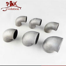 """Pipe Joiner 2""""50mm Turbo Intercooler pipe Cast Aluminum 90 Degree Elbow Piping"""