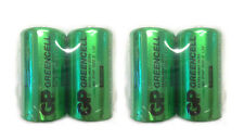 FOUR pack of C cell Batteries for Unisex Cleancut Shaver razor hair remover