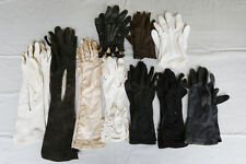 Vintage Womens Gloves. 10 assorted pairs.