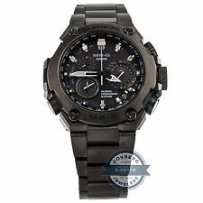 Casio Mr. G MB6 GPS Hybrid MRG-G1000B-1ADR Quartz Titanium Mens Watch Alarm