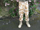 British Army Old Style Desert Camo Combat Trousers Camouflage Military Surplus