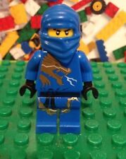 LEGO Ninjago Jay DX Minifigure  Blue Dragon Suit Ninja Hood 2521 2519