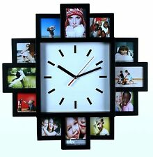 Wall Clock Style Hanging 12 Photo Frame Home Decoration Picture Frame Great Gift