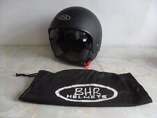 BHR Open Face Vintage Style Motorcycle Helmet Size - Medium ( 57-58cm )