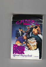 "1991 CAMEL CIGARETTES ""THE HARD PACK""  PLAYING CARDS  ""UNSEALED"""