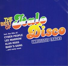 Best Of Italo Disco - Unrel. Tracks -2CDs Neu Gazebo HYPNOSIS ALAN ROSS HYPNOSIS