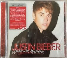 "JUSTIN BIEBER ""UNDER THE MISTLETOE"" CD 2011 island christmas sealed b"