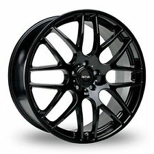 "19""riva dtm gloss black ALLOY WHEELS BMW 3 SERIES vw t5/ csl wider rear"