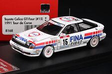 Toyota Celica GT-Four (#15) 1991 Tour de Corse **FINA** - HPI #8168 1/43