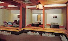 Illinois postcard Chicago Kiyo's Japanese Restaurant tea house 2829 N. Clark St