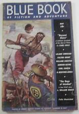 BLUE BOOK PULP MAY 1938 KIOGA OF UNKNOWN LAND WILLIAM CHESTER LELAND JAMIESON